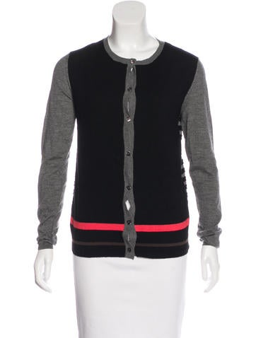 Marni Cashmere Patterned Cardigan None