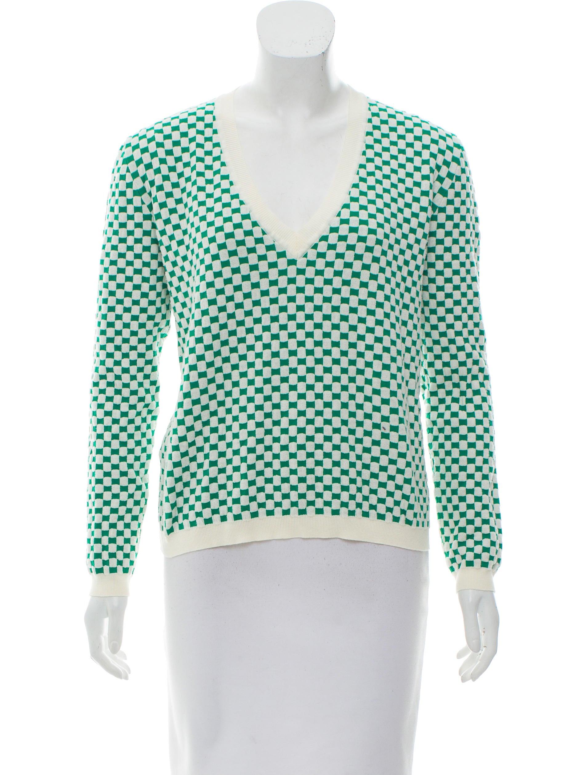 Marni Jacquard Long Sleeve Sweater - Clothing