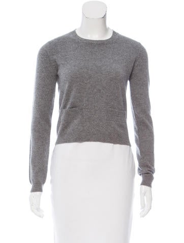 Marni Cropped Cashmere Sweater None