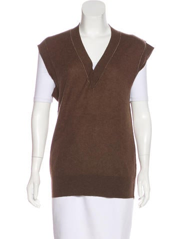 Marni Cashmere Sweater Vest None