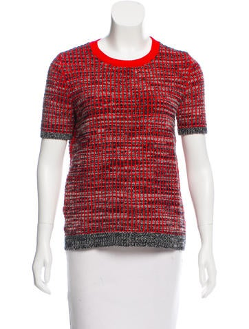 Marni Wool & Cashmere-Blend Top None