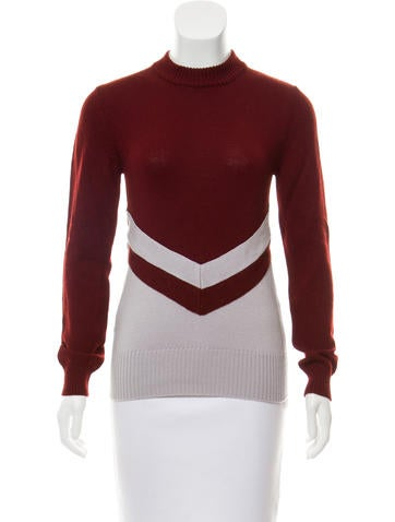 Marni Wool Mock Neck Sweater None
