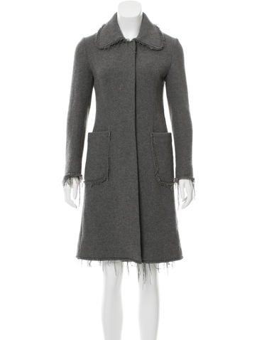 Marni Knee-Length Cashmere Coat None