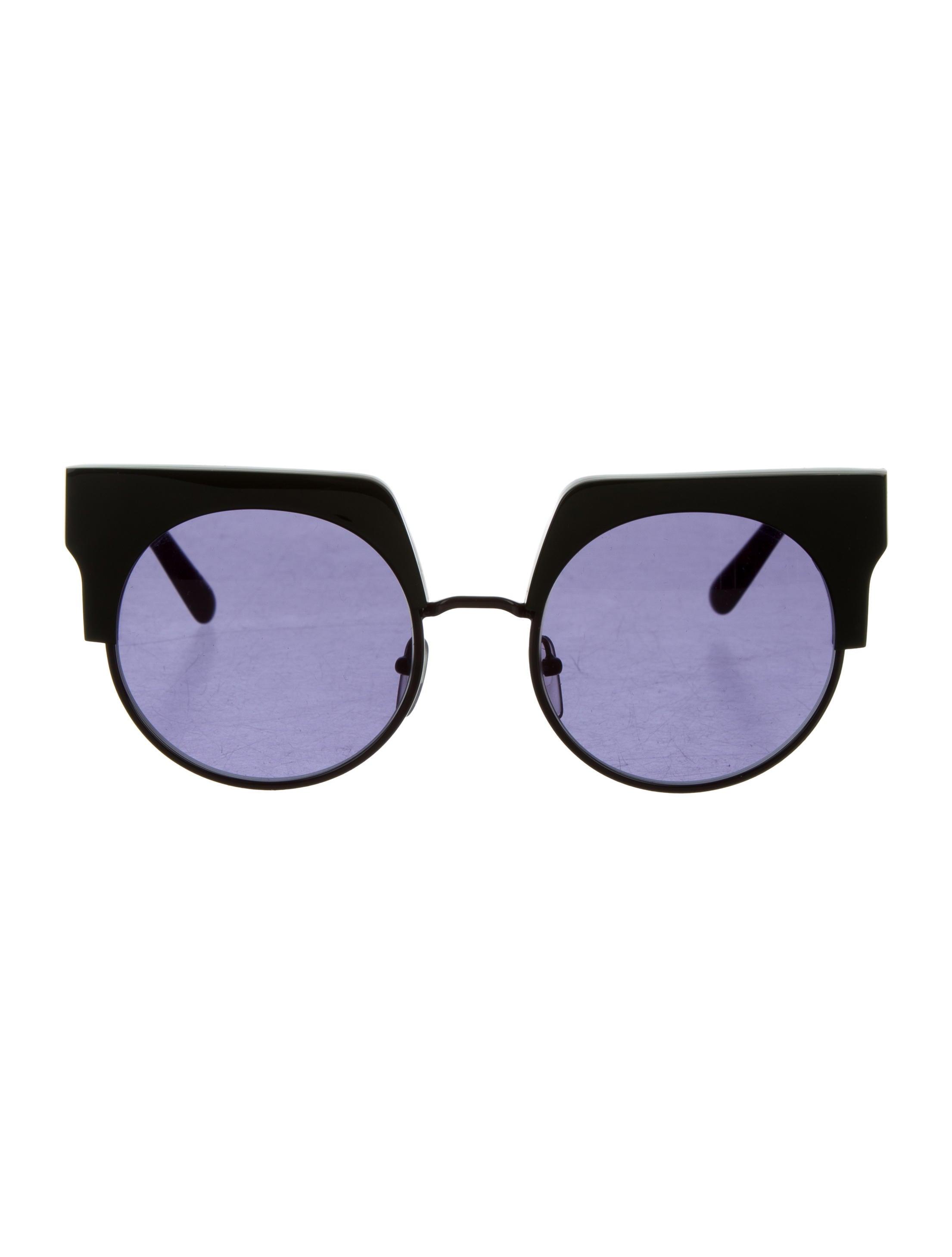 Marni Oversized tinted sunglasses q1VQJ8Xg