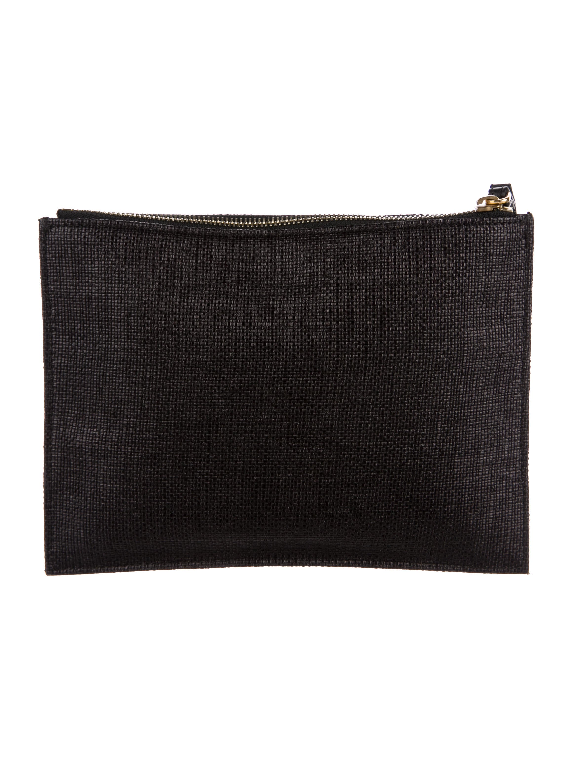 zipped pouch - Black Marni GC397OI