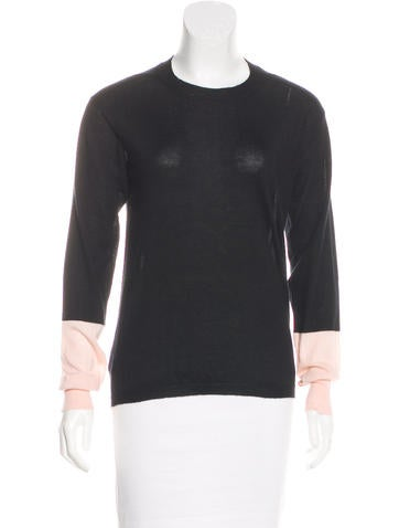Marni Cashmere Colorblock Sweater None