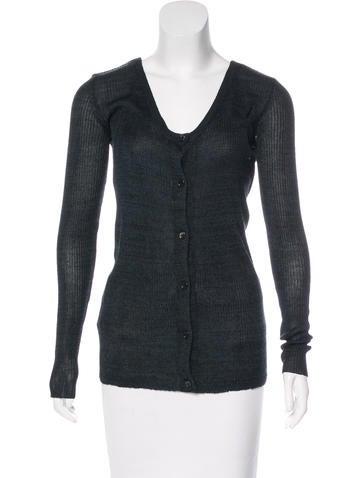 Marni Long Sleeve Silk Cardigan w/ Tags None