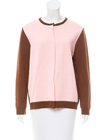 Marni Patterned Knit Jacket None