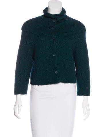 Marni Wool & Cashmere Cardigan None