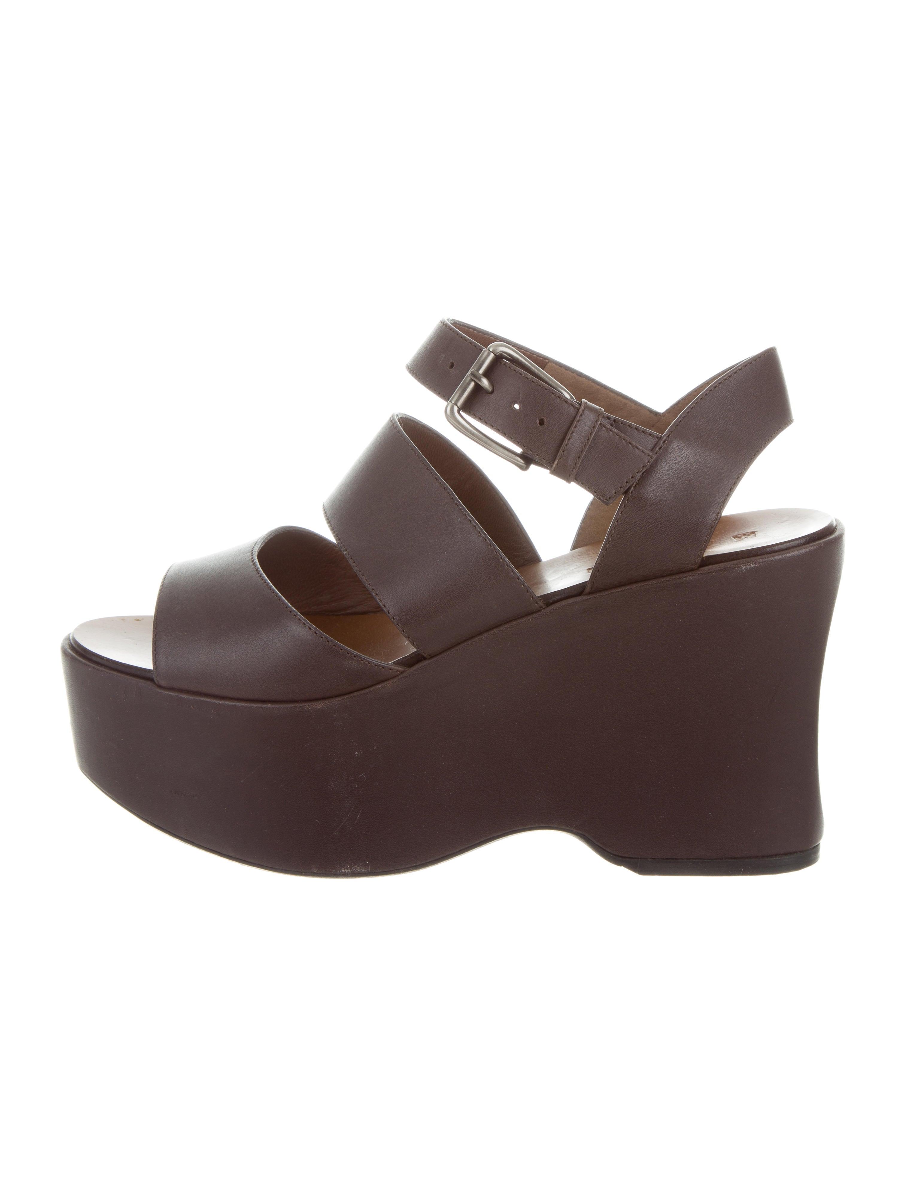 Manchester cheap online cheap online shop Marni Multistrap Platform Sandals sBwAIe