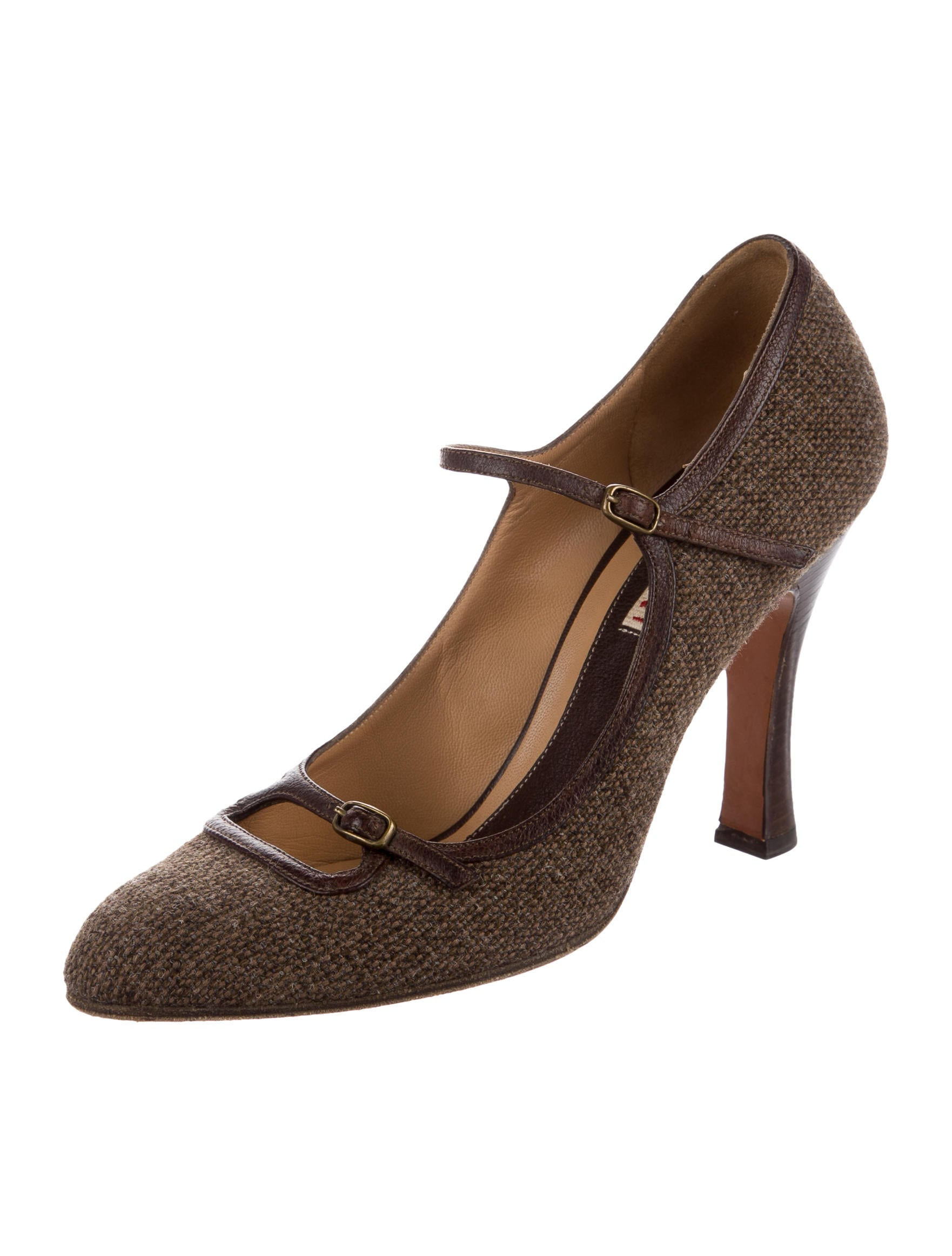 Marni Tweed Semi Pointed-Toe Pumps clearance store cheap online best wholesale cheap online clearance from china GMH4k