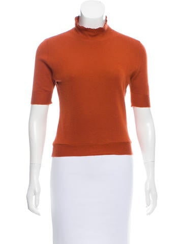 Marni Cashmere Short Sleeve Top None