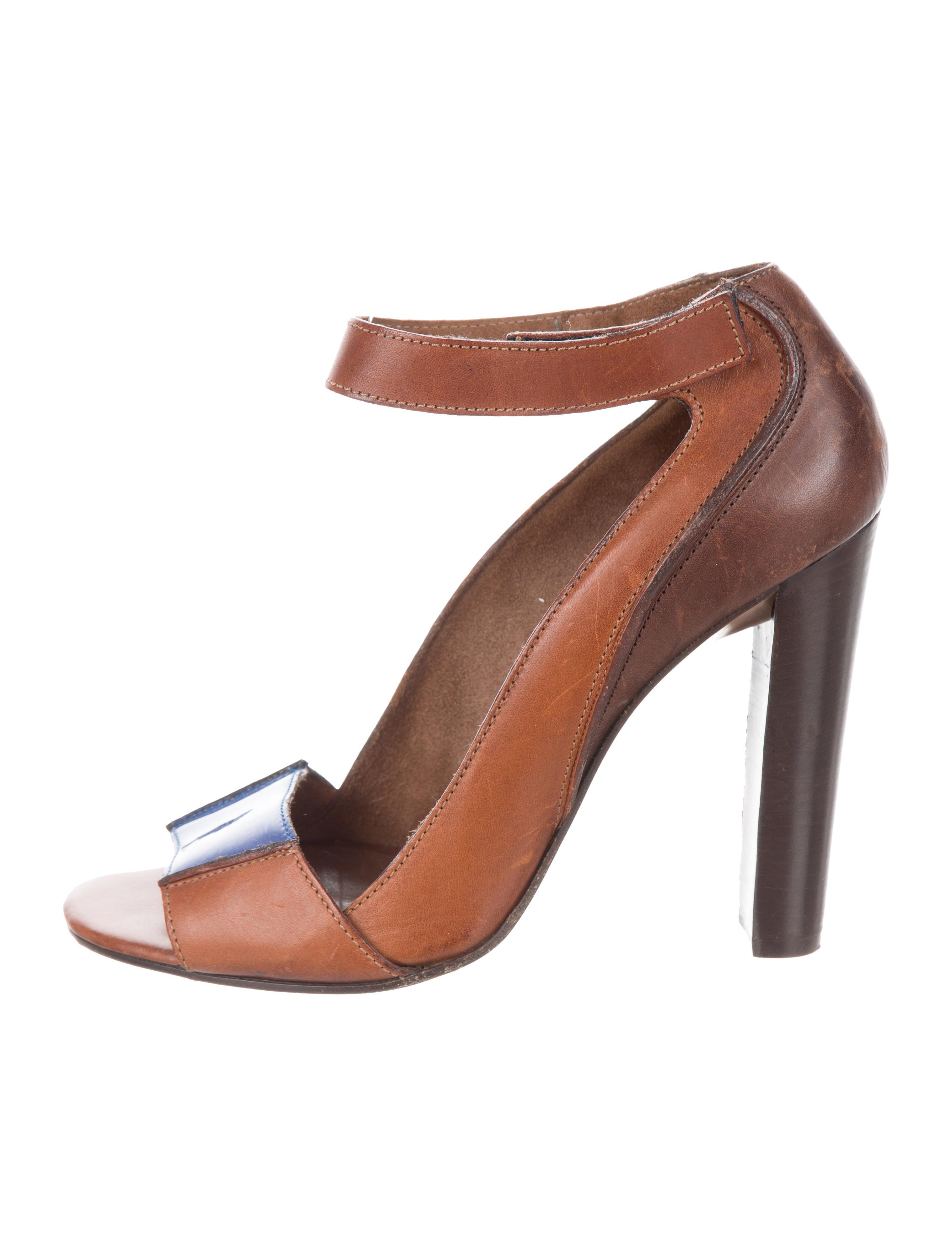 Marni Leather Peep-Toe Pumps comfortable footaction cheap official site outlet shop for y2uElSvzGP