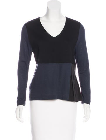 Marni Wool & Silk-Blend Top None