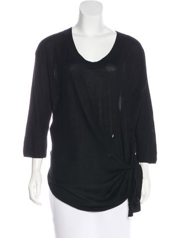 Marni Cashmere Long Sleeve Top None