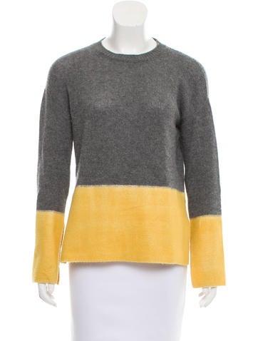 Marni Cashmere Colorblock Sweater None