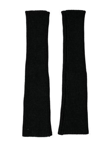 Marni Wool Rib Knit Arm Warmers None