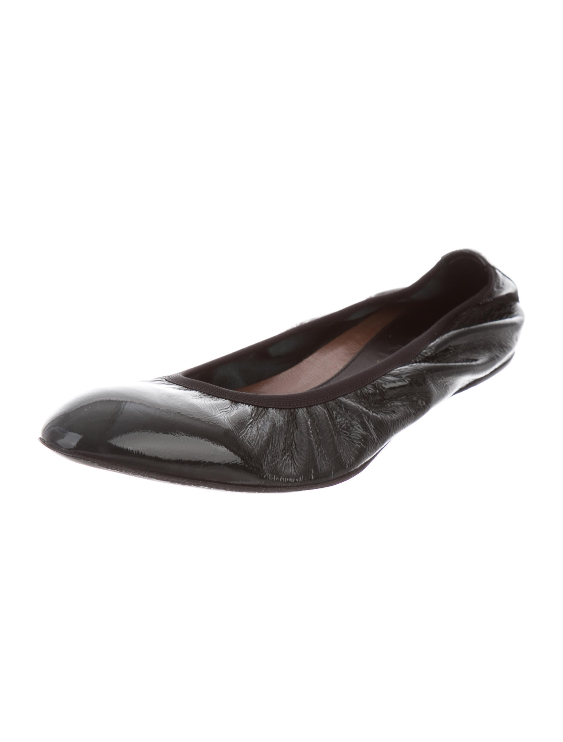 fashionable Marni Patent Leather Semi Pointed-Toe Flats cheap footlocker pictures buy online new cheap sale sneakernews t04KlKKDU
