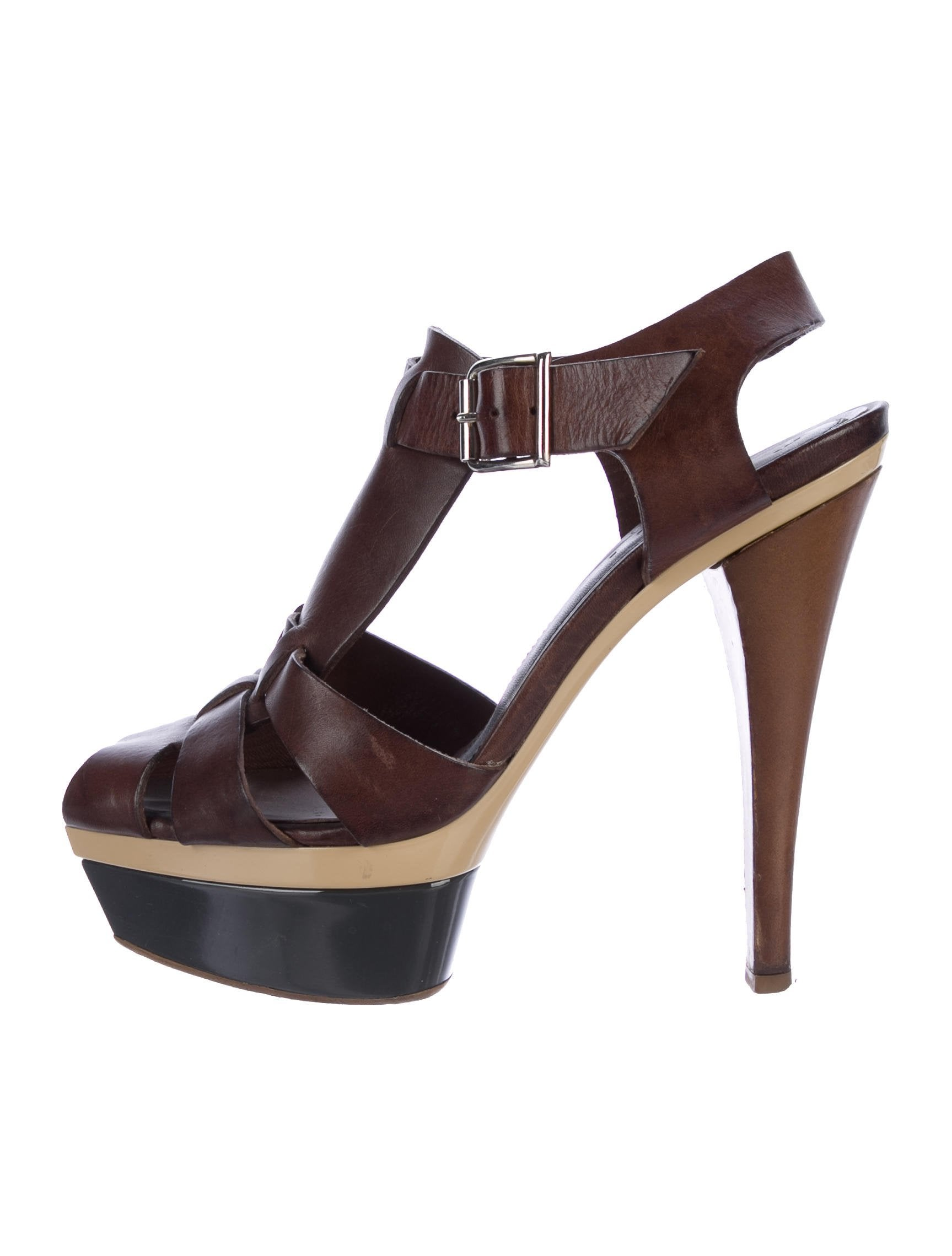 Marni Platform Square-Toe Sandals low price order KfOhJxK