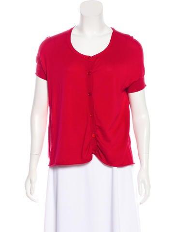Marni Short Sleeve Cashmere Cardigan None