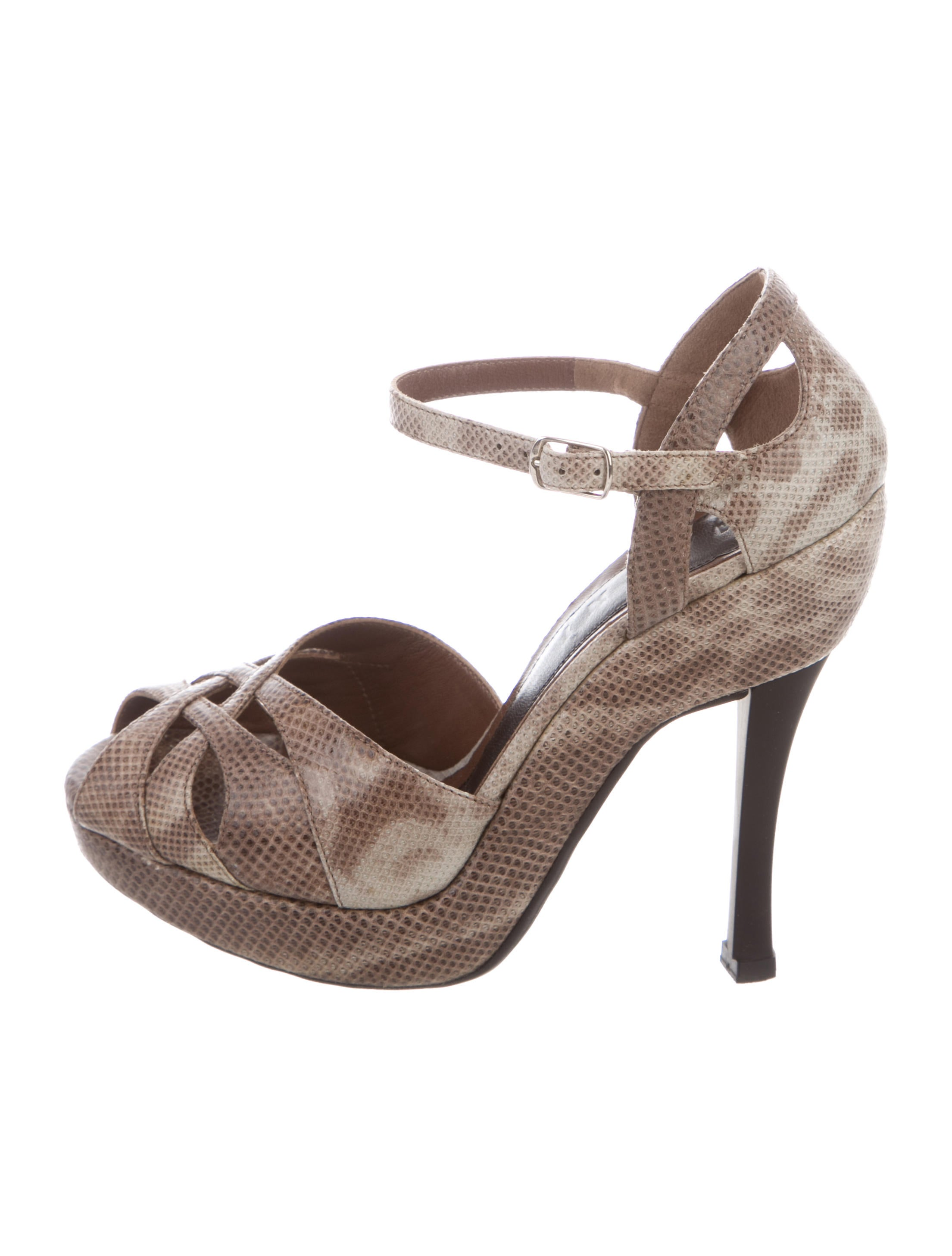 Marni Karung Ankle Strap Sandals Inexpensive cheap price 0ShKbCTq