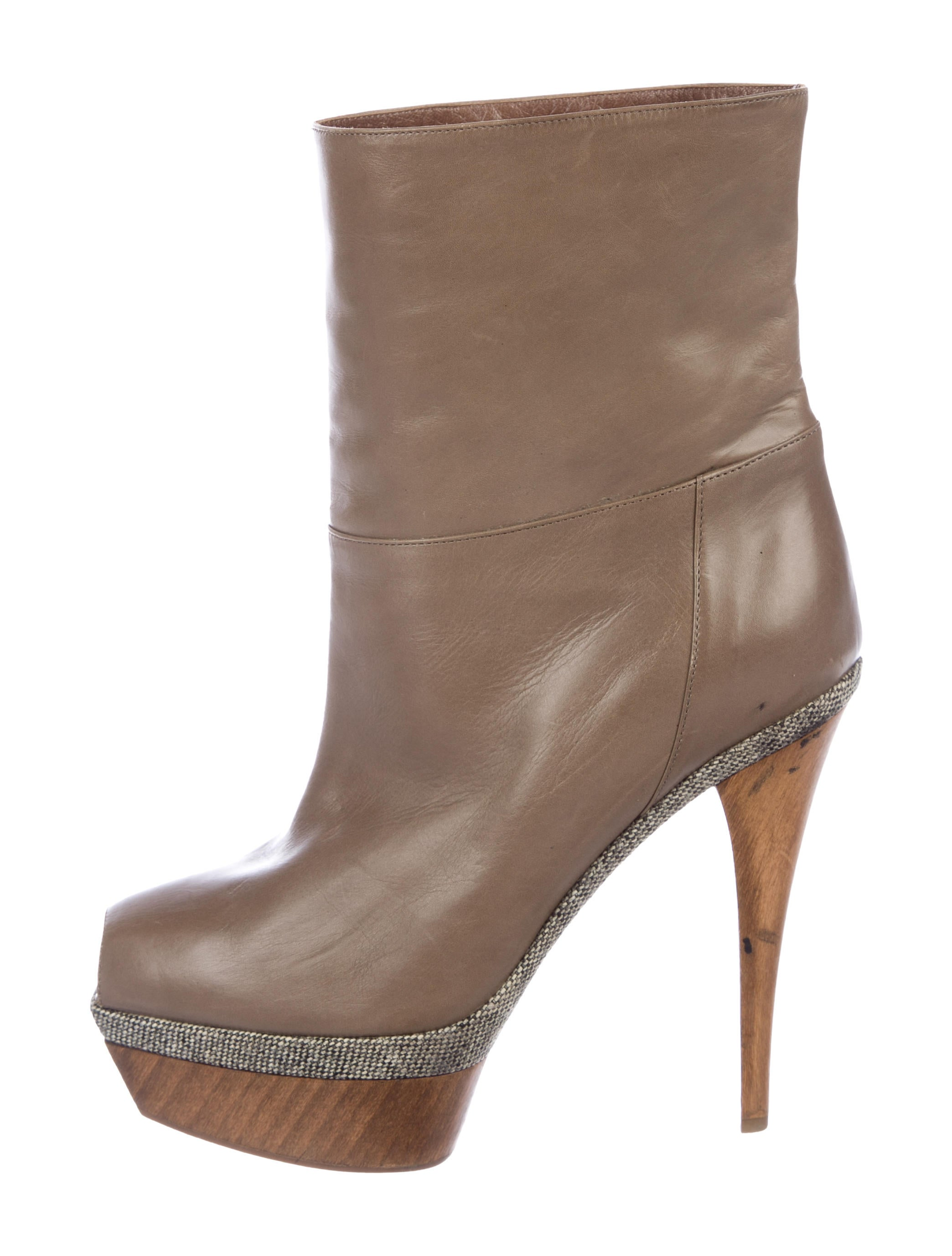 Marni Peep-Toe Platform Ankle Boots sast cheap price hcdxQdsuYi