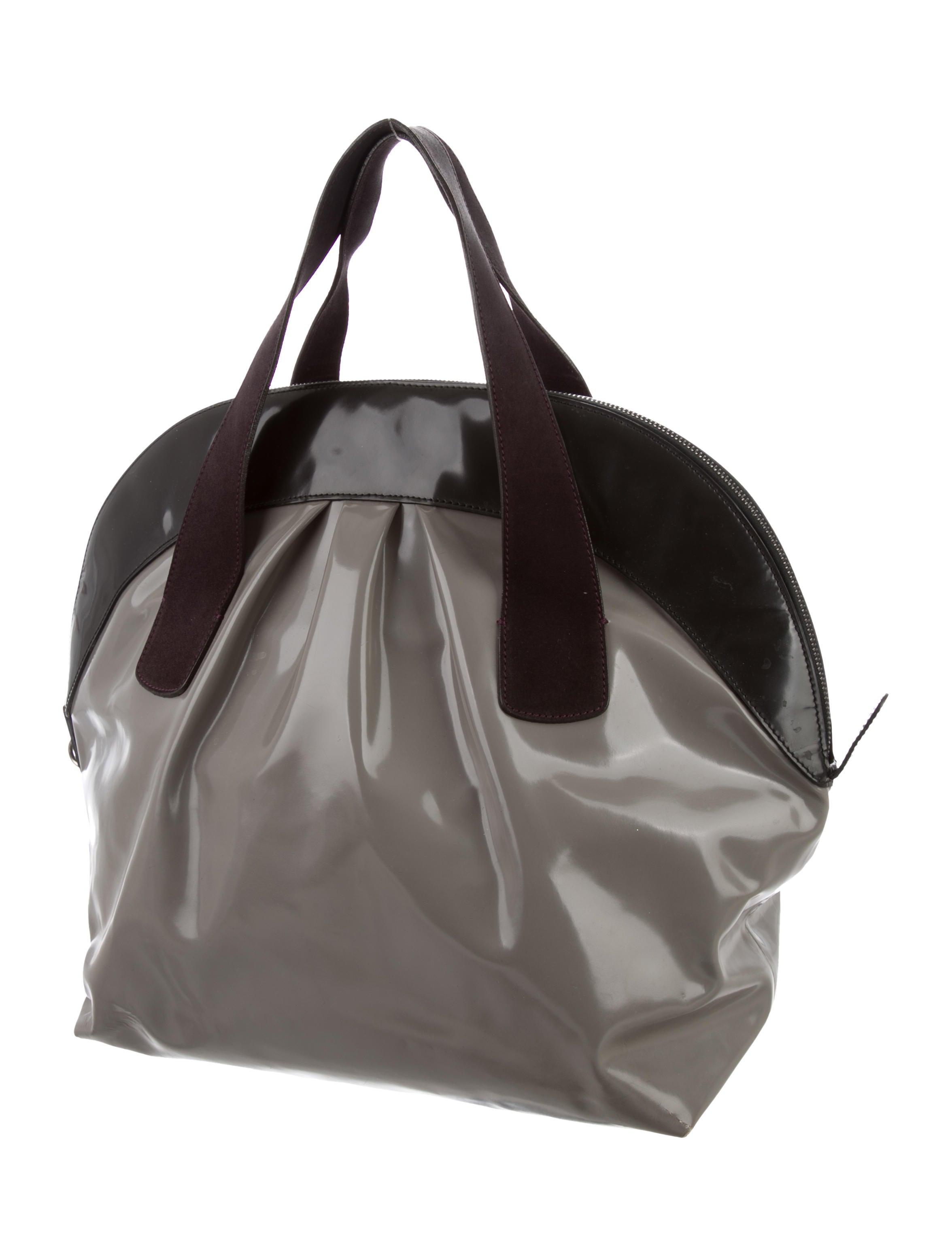 Glazed Leather Bag