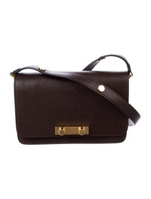 f8c55707f5ce Marni. Leather Flap Shoulder Bag