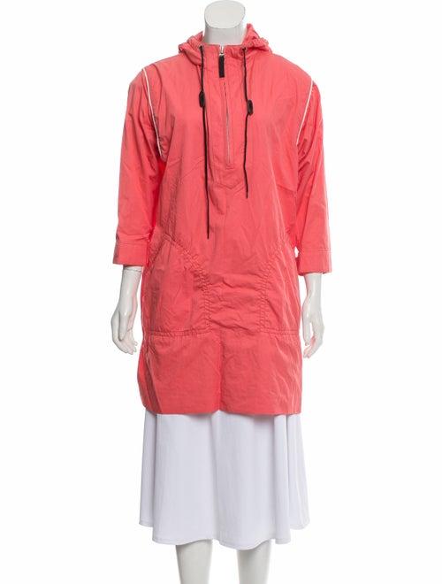 Marni Hooded Mini Dress pink