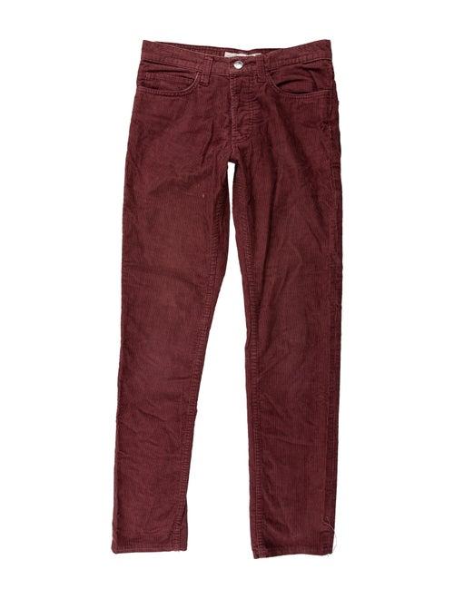 Marc Jacobs Straight Leg Pants Purple