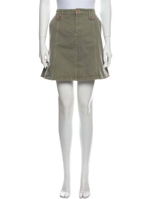Marc Jacobs Mini Skirt Green