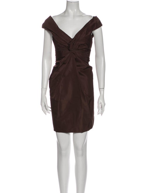 Marc Jacobs Silk Mini Dress w/ Tags Brown