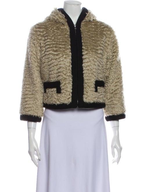 Marc Jacobs Mohair Faux Fur Coat