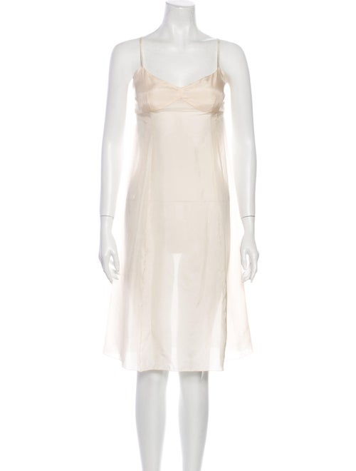 Marc Jacobs V-Neck Knee-Length Dress