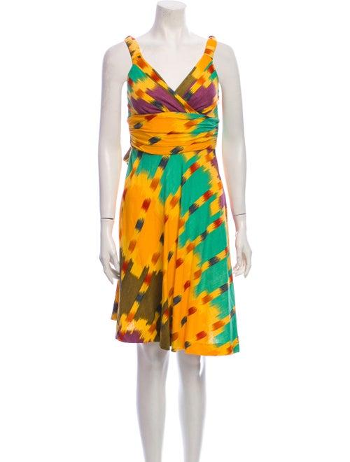 Marc Jacobs Linen Knee-Length Dress