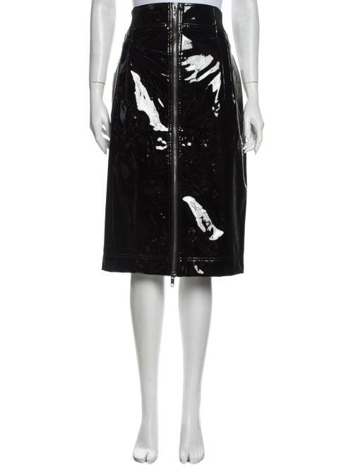 Marc Jacobs Knee-Length Skirt Black