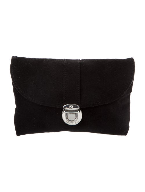 Marc Jacobs Terrycloth Flap Pouch Black