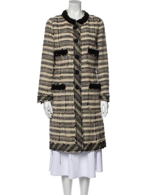 Marc Jacobs Tweed Pattern Coat