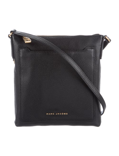 Marc Jacobs Leather Crossbody Bag Black