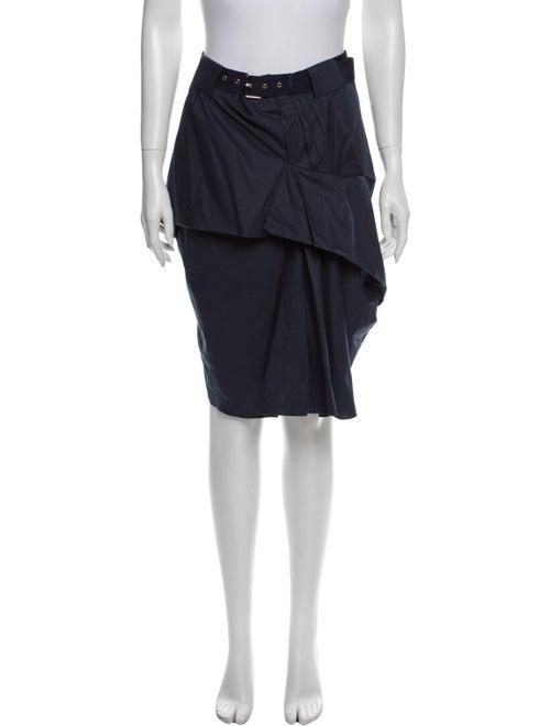 Marc Jacobs Knee-Length Skirt Blue