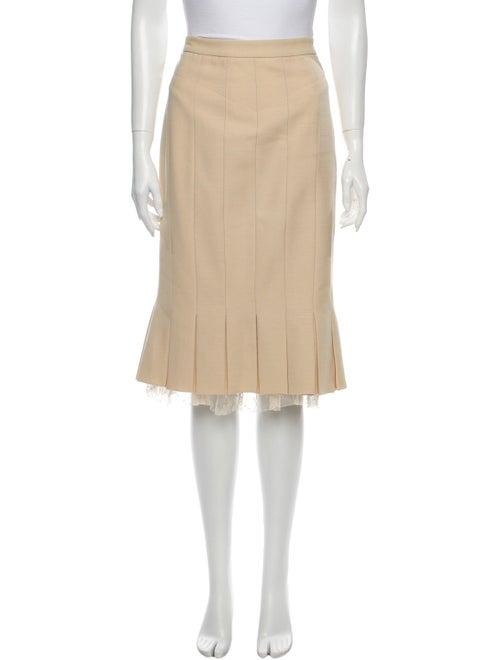 Marc Jacobs Wool Knee-Length Skirt Wool