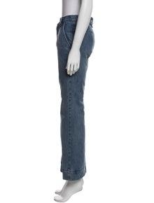 Marc Jacobs Mid-Rise Wide Leg Jeans