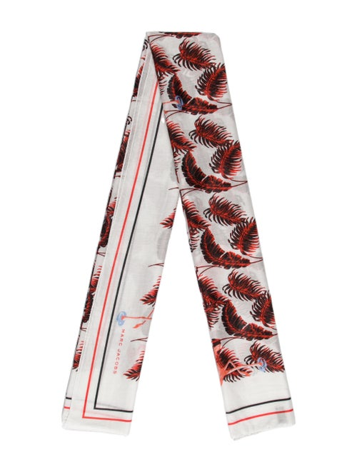 Marc Jacobs Marc Jacobs Cotton scarf White