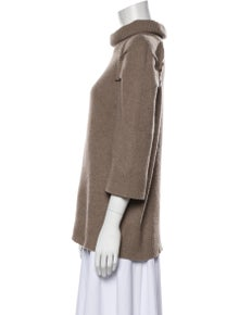 Marc Jacobs Wool Mock Neck Sweater