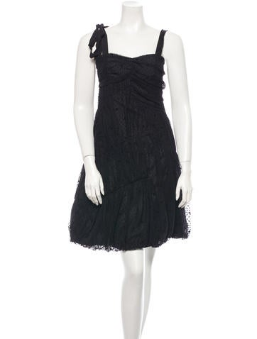 Marc Jacobs Polka Dot Dress None