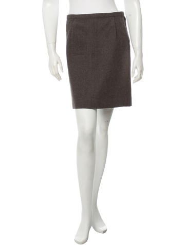 Marc Jacobs Wool Skirt None