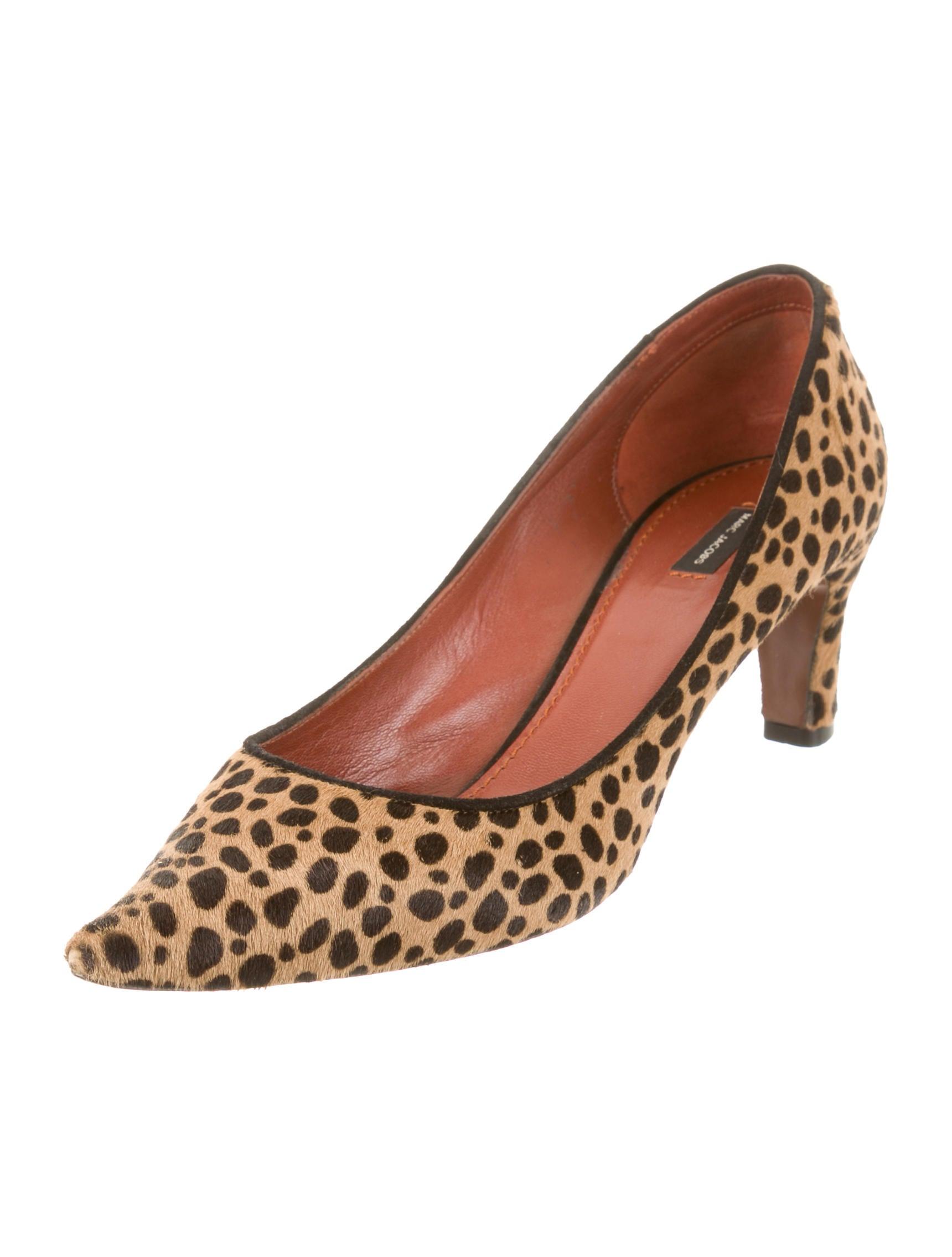 Marc Jacobs Cheetah Print Pumps Shoes Mar30108 The