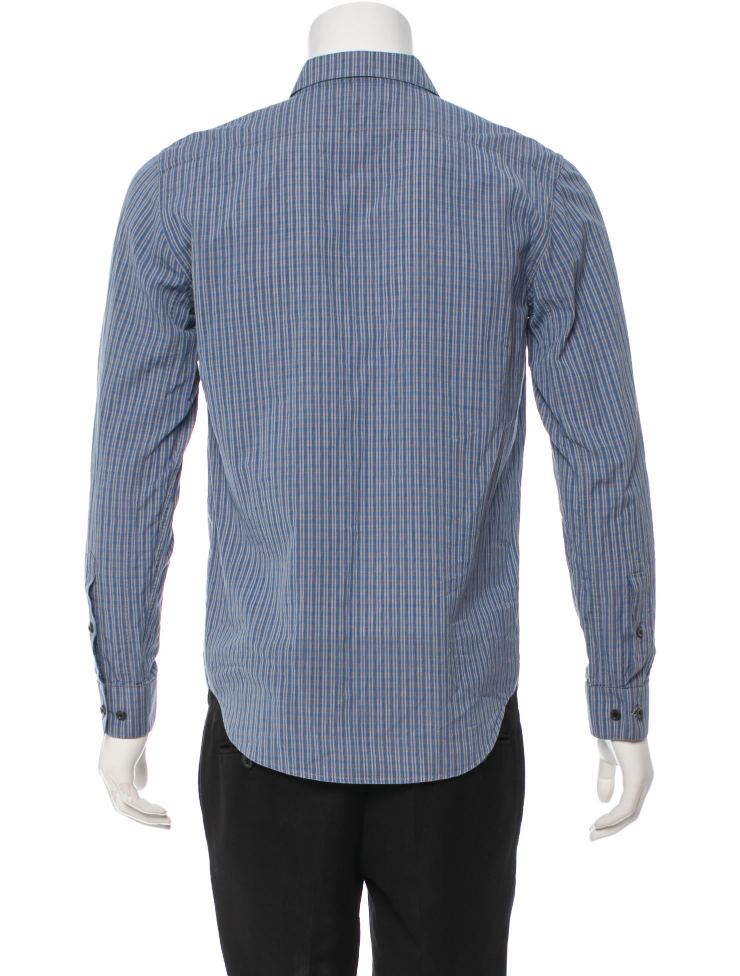 Marc Jacobs Long Sleeve Button Up Shirt Clothing