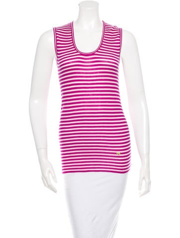 Marc Jacobs Cashmere Striped Top None