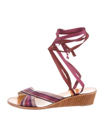 Marc Jacobs Wedge Sandals None